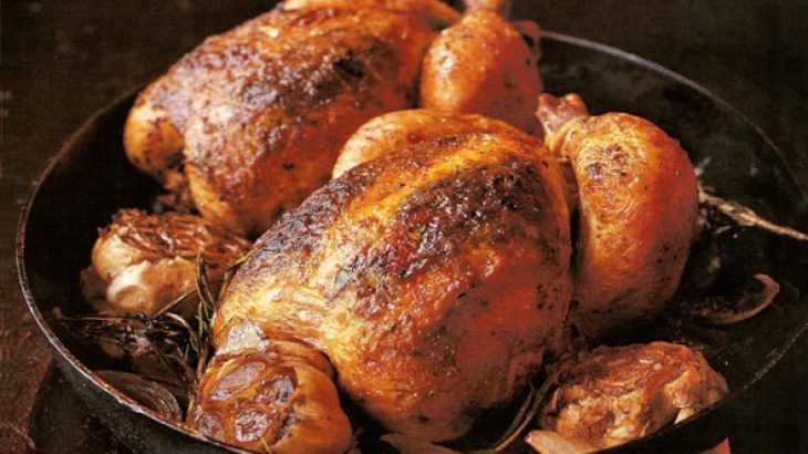 Roast Chicken for Two Recipe