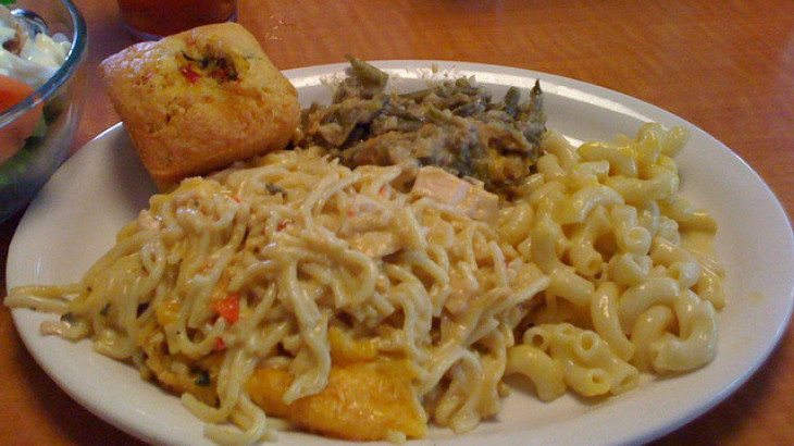 Salmon Tetrazzini