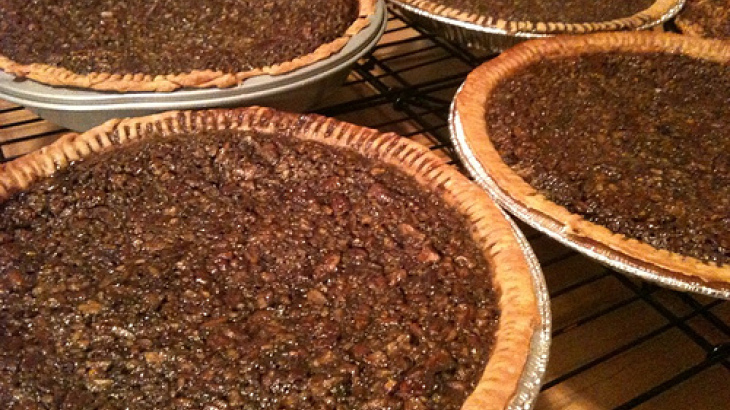 Southern Chocolate Bourbon Pecan Pie
