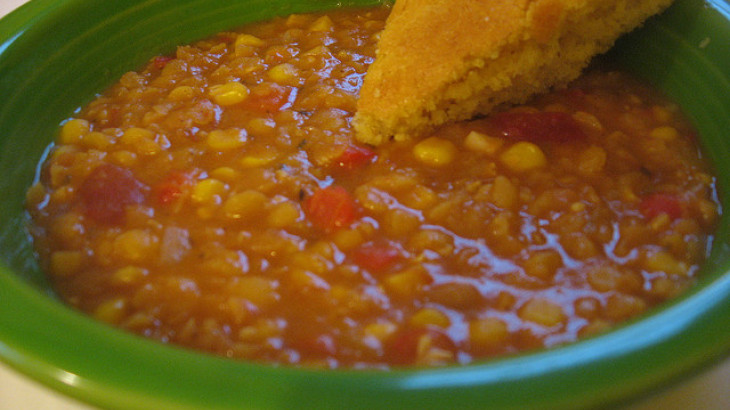 Southwestern Salsa Soup