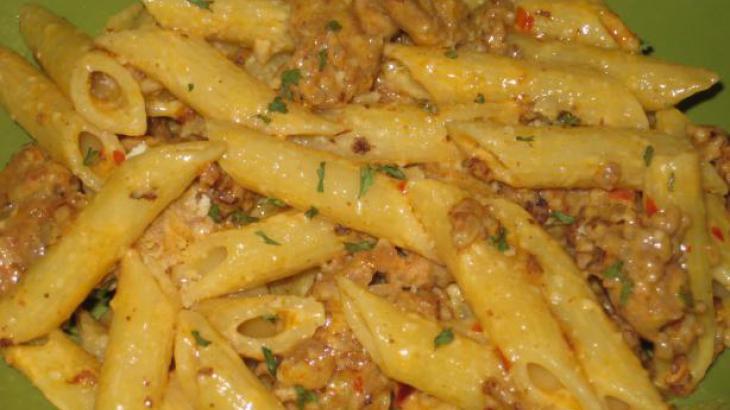 Spicy Fatboy Sausage Pasta