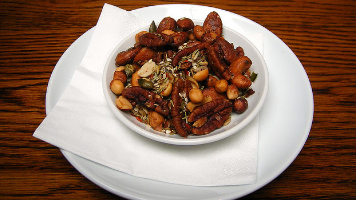 Spicy Mixed Nuts & Seeds