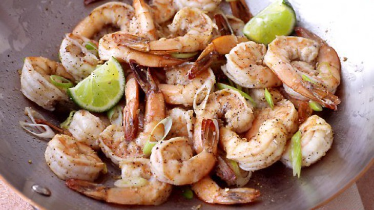 Spicy Shrimp Stir-Fry