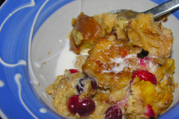 Easy and Delicious Spiked cranberry nut bread pudding Recipe by ...
