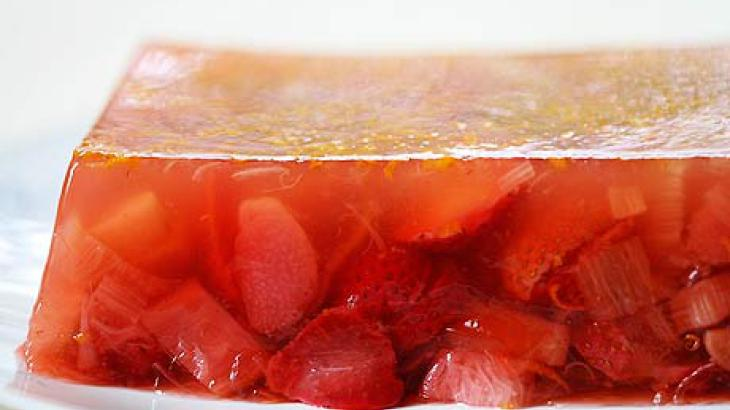Strawberry Rhubarb Terrine