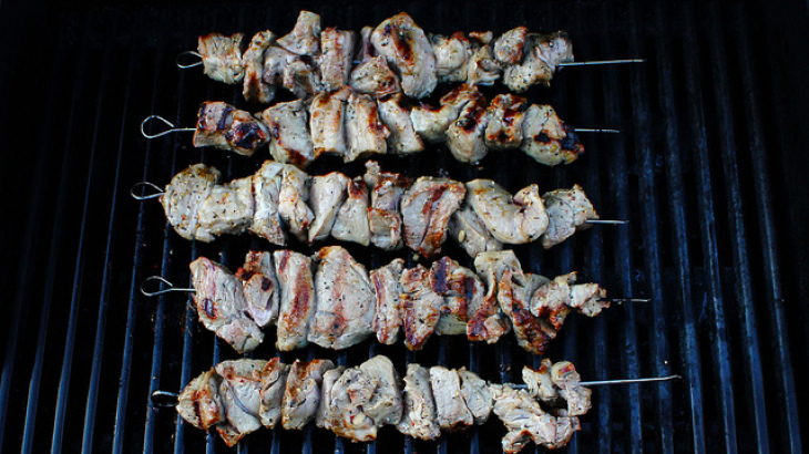 The Best Marinade for Kabobs! (Beef, Pork and Lamb)
