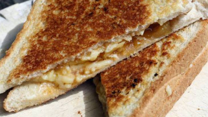 The Secret Ingredient (Mango Chutney): Chutney and Cheddar Toasties