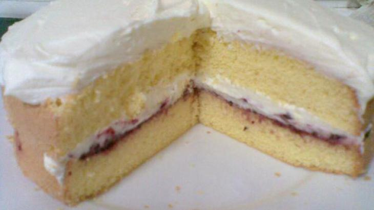Three Ingredient Italian Sponge Cake