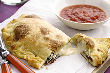 Easy and Delicious Three-Cheese Calzones Recipe by Makeeze Recipes