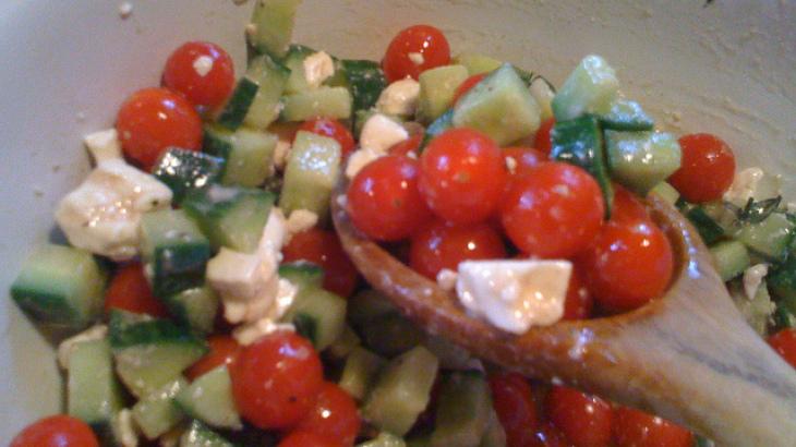 Tomato Corn Cucumber Salad Recipe Feta