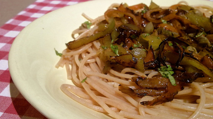 Vegetarian Spaghetti for Crock Pot